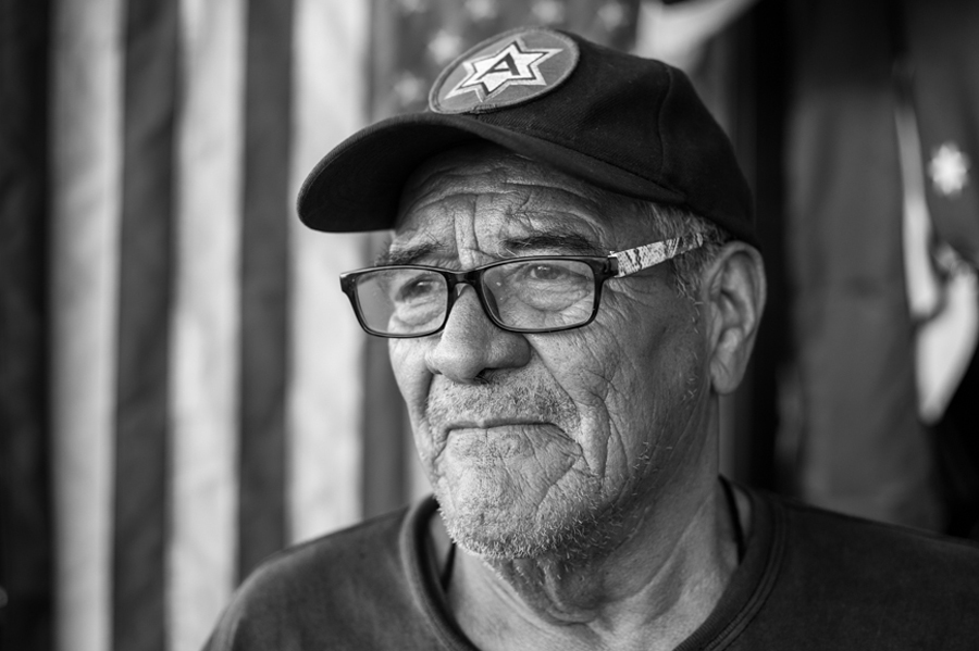 Andy de León (#14)  The Life of a 73-Year-Old Deported Army Veteran
