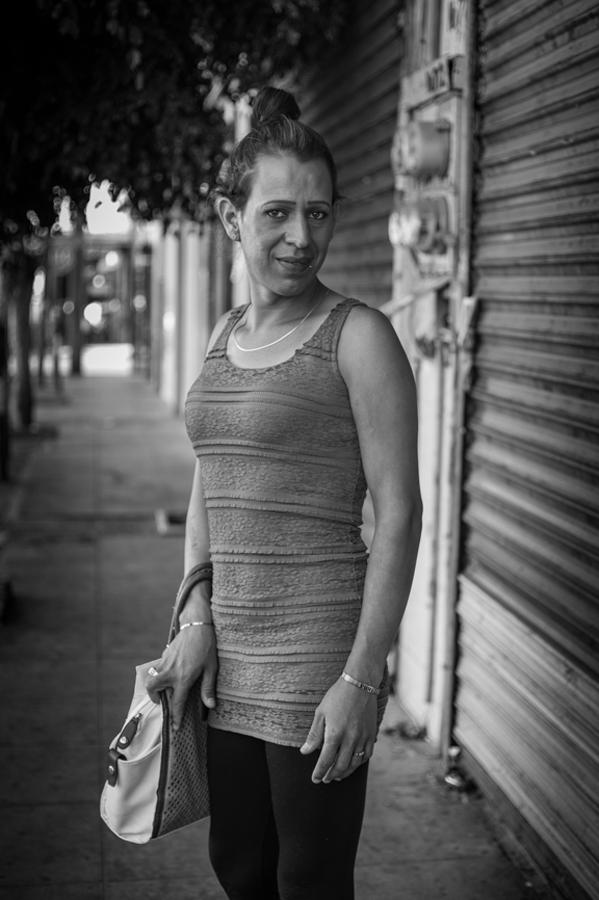 Yuri Rodríguez (#90) Walking Towards a New Life